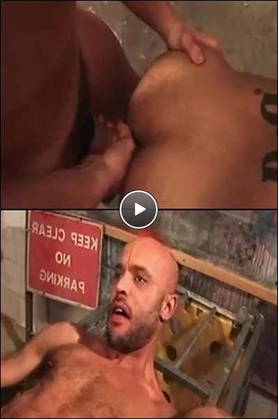 interracial gay men porn video