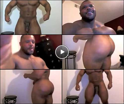 black bodybuilder gay sex video